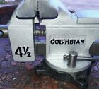 Vintage Columbian 4 1/2 Swivel Vice you have not seen ☆Restoration Pipe/Anvil☆