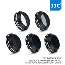 JJC Multi-coated 5PCS ND4,ND8,ND16,UV,CPL Filters for DJI MAVIC PRO Quadcopters