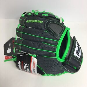 "Franklin Softball Fielding Glove 11"" Fast Pitch Pro Series Youth Right Hand Neon"