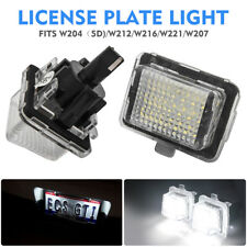 2X LED Licence Number Plate Light Lamp Mercedes Benz C207 W204 W212 R231 W221