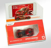 2019 Hot Wheels id 2014 CORVETTE  C7.R ☆RED☆Uniquely Identifiable ☆Series 1