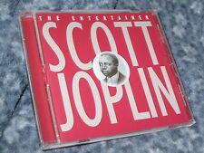"""SCOTT JOPLIN CD """"SCOTT JOPLIN THE ENTERTAINER"""" GOING FOR A SONG RECORDS UK IMPOR"""