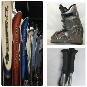Rossignol Beginner-Intermediate Ski Package 148,158,160,166,176,182 CM + Boots