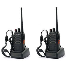 2 x Baofeng BF-888S 2800 mAh 400-470MHz 16CH Ham CTCSS Two Way Radio