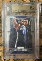 2019-20 Panini Prizm #248 Zion Williamson Pelicans RC Rookie BGS 9.5 GEM MINT