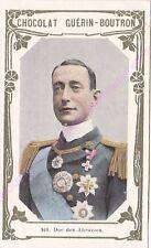 Chromo CHOCOLAT GUéRIN BOUTRON Duc des Abruzzes  n 169 /500