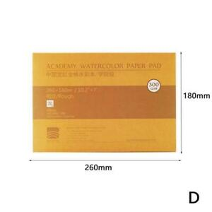 Watercolour Paper Sheets 100% Cotton Artists Pad Cold Hot Press W/ Y5O9 7Y6T