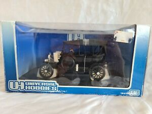 NEUF BOITE 1/18 AMERICAN UNIVERSAL HOBBIES FORD MODEL T SOFT TOP UP REF HM 16202