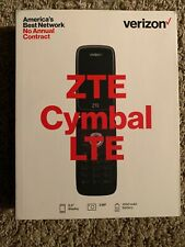 Verizon Zte Cymbal Lte Flip Cell Phone 4G Lte - See Description - Not Working
