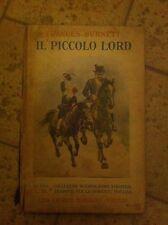 IL PICCOLO LORD-FRANCES BURNETT-MARZOCCO FIRENZE-1943