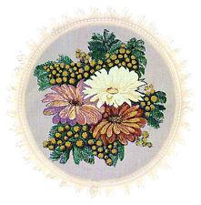 Petite nappe d table ronde style gobelin Nappe de Table Beau bouquet