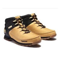 Timberland Men's Euro Sprint Wheat / Black Hiker Boots A1NHJ