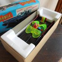Aoshin Company Japan ASC Batman Batmobile Tinplate Retro Toy Super Rare