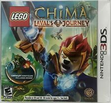 Lego Chima Laval's Journey With Crawley Minifigure Nintendo 3DS Game