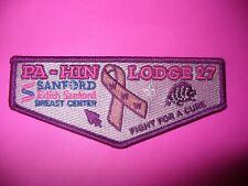 Nentego Lodge 20 Breast Cancer Pink Ribbon Full Ghost Awareness OA Flap