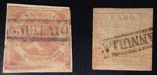 Francobolli italiani di antichi stati, blocchetto da 2