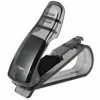 Auto Car Vehicle Visor Glasses Sunglass Ticket Card Holder Receipt Universal