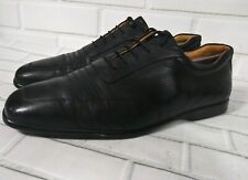J.M. WESTON 9E Derby Pebbled Leather Oxford Casual Shoes Black Golf? Made France