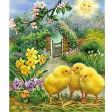 Chick DIY 5D Full Diamond Painting Embroidery Cross Stitch Craft Home Decor