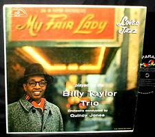 BILLY TAYLOR Loves Jazz LP QUINCY JONES ORIGINAL ABC PARAMOUNT