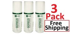 Biofreeze Professional 3 oz Roll On - 3 Pack - FREE SHIPPING - ALWAYS FRESH !