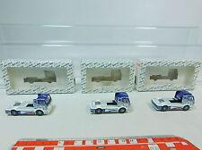 av158-0,5 # 3x WIKING H0 Camión De Carreras /Camión Mercedes/ MB isri : 44101