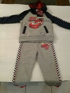Cars Boys Trackie Sets / Sizes  5 and 6.