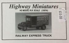JORDAN HIGHWAY MINIATURES RAILWAY EXPRESS TRUCK