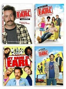 My Name is Earl Complete Series DVD Season 1-4 (1 2 3 & 4) NEW Free shipping