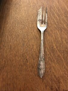 Pastry Fork LOXLEY by MAURICE STABLES, Sheffield England, EPNS
