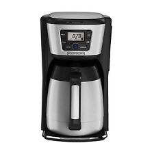 NEW Auto Brew Coffeemaker 12-Cup Thermal Programmable Home Kitchen Carafe Pour