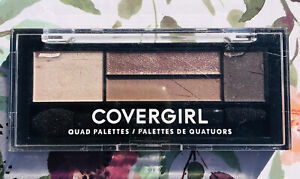 CoverGirl Eye Shadow Quads, Notice Me Nudes 700 0.06 oz