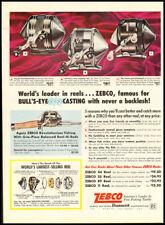 1962 vintage ad for Zebco Fishing Reels -152