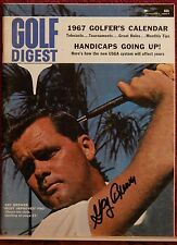 AUTOGRAPHED>GOLF DIGEST MAGAZINE>JANUARY 1967> PRO GOLFER>GAY BREWER