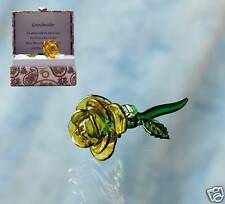 Grandmother Rose Crystal Gift in Message Box With Verse - Gift for Grandma