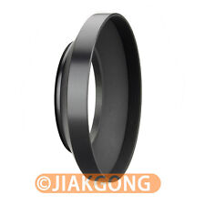 55mm metal wide angle screw in mount lens hood for Canon Nikon