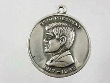 John Kennedy Charm 5 Grams Vintage Sterling Silver 35th President