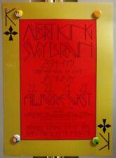 Albert King SaVoY BroWn Bg213 BiLl Graham FiLlmore FirSt Print PoSter