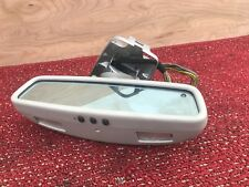 MERCEDES W220 W215 S55 S500 S600 S430 CL500 REAR VIEW MIRROR HOMELINK OEM 117K