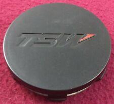 TSW Wheels Matte Black Custom Wheel Center Cap ONE CAP # PCG18-T NEW!