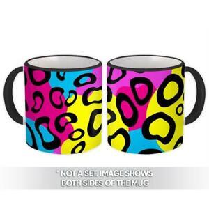 Gift Mug : Animal Print Modern Neon Pink Leopard Colorful
