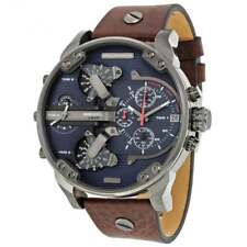 Diesel DZ7314 Mr Daddy 2.0 Blue & Brown Leather Chronograph Men's Watch