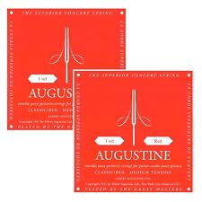 AUGUSTINE RED - 2 SATZ SAITEN, MEDIUM TENSION, ROT - 028-0425 CLASSIC KONZERT