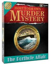 Murder Mystery The Porthole Affair - Host Your Own Dinner Party - Cheatwell Game