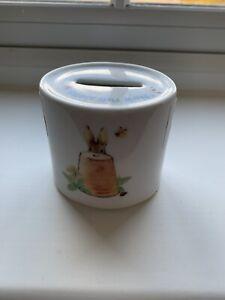 Wedgewood Beatrix Potter Peter Rabbit Money Box