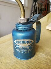 Vintage Rainbow Oil Pump Container store#F7