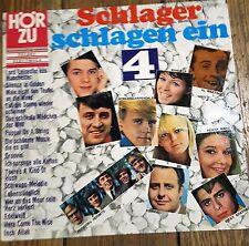 Hör zu - Schlager schlagen ein 4  -- (Vinyl, LP) -- HÖRZU