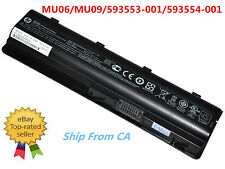 New Genuine HP MU06 Original Laptop Battery 10.8V 47Wh 4200mAh 6-cell 593553-001