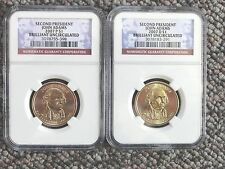 2007 P & D John Adams Presidential $1 Coins NGC Certified First Day Issue