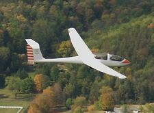 Grob G-103A Twin II Sailplane Glider Airplane Model Replica Small Free Shipping